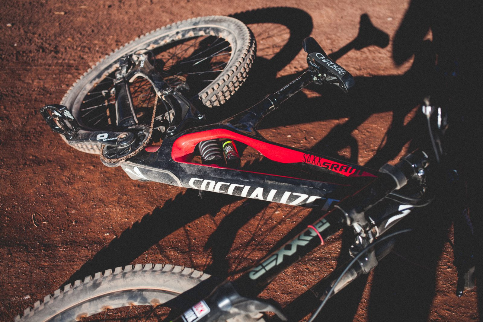Kyle Norbraten's Specialized Demo 8.