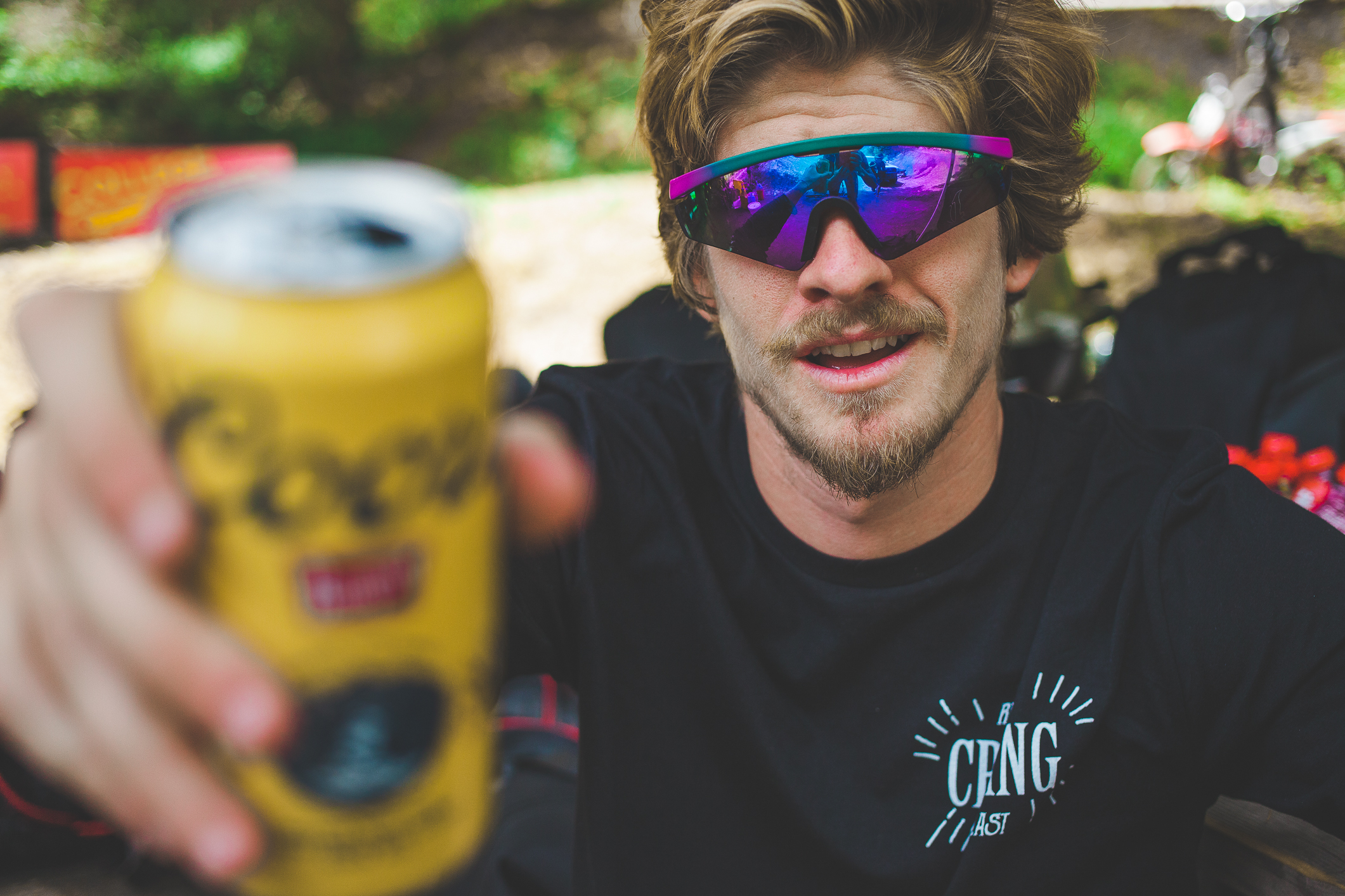 Spanish TV commercial actor and all around extreme sports rider Topo made it to CruzFest as he is filming the riding and lifestyle of his longtime friend Andreu Lacondeguy during a 2 month trip around the USA and Canada.