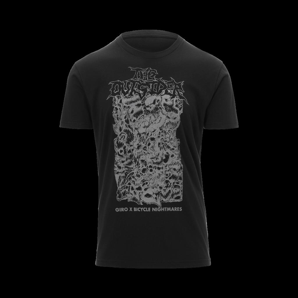 giro x bicycle nightmares t-shirt