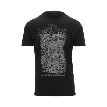 giro x bicycle nightmares metal t-shirt