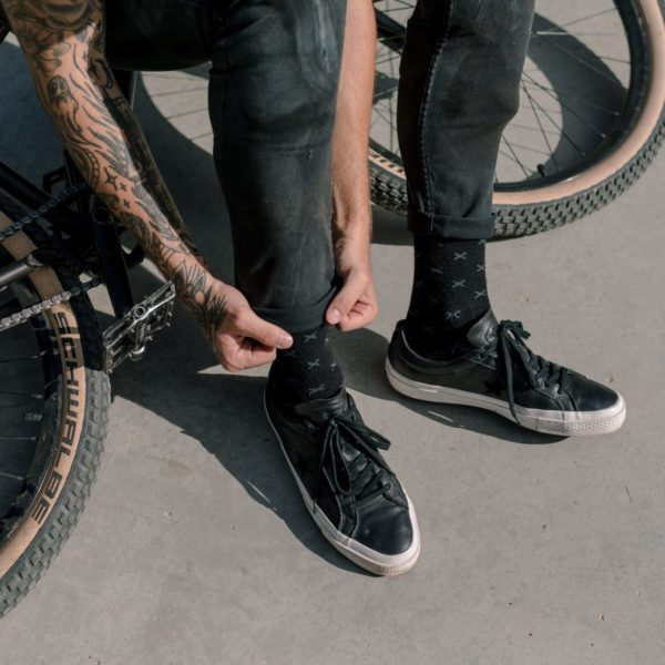 giro x bicycle nightmares straight edge socks